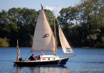 Chris Allender brought 'SeaJay', his Whisper Boats Stornoway 18 Weekender